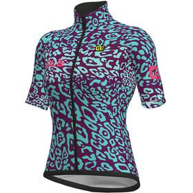 Alé Cycling Klimatik K-Atmo WR Esplosione Naiset Pyöräilypaita lyhythihainen , violetti/turkoosi